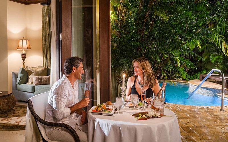 Candlelight Dinner in The Caribbean - The Travel Whisperer