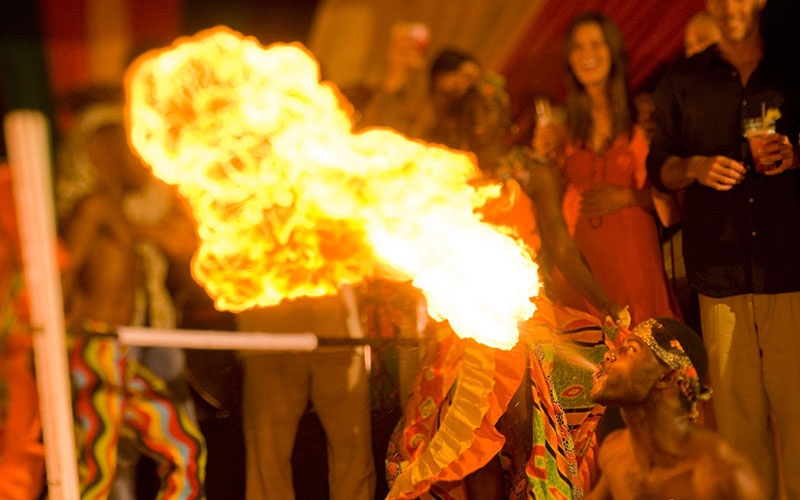 Night Entertainment in The Caribbean - The Travel Whisperer