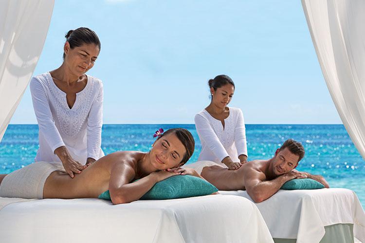 All inclusive resorts Mexico - spa treatments