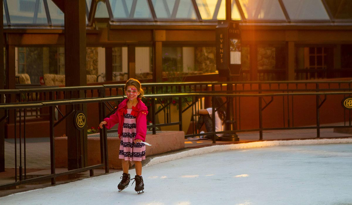 Fourth of July ice-skating in the Mountains - The Travel Whisperer