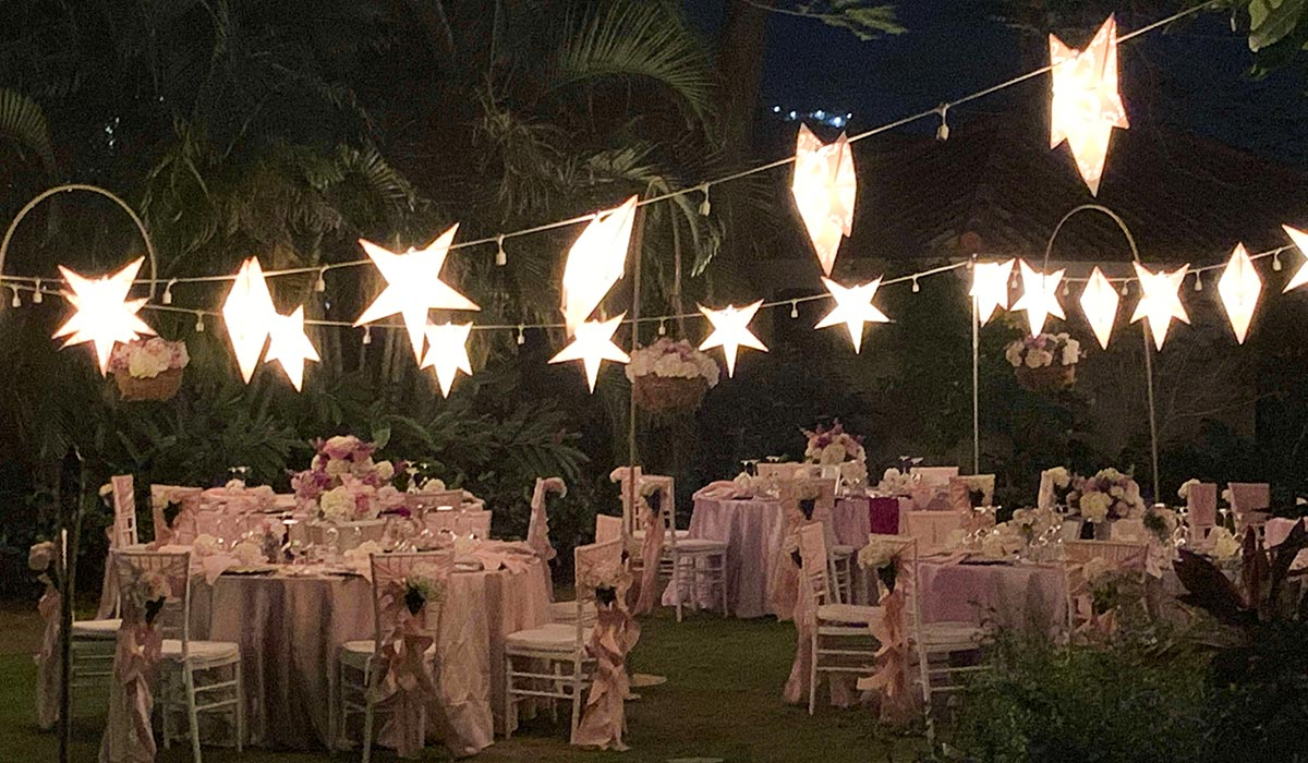 Welcome Dinner, Sandals Wedding Experience